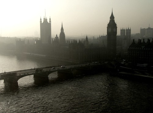 Westminster from the London Eye | by Kathleen Tyler Conklin