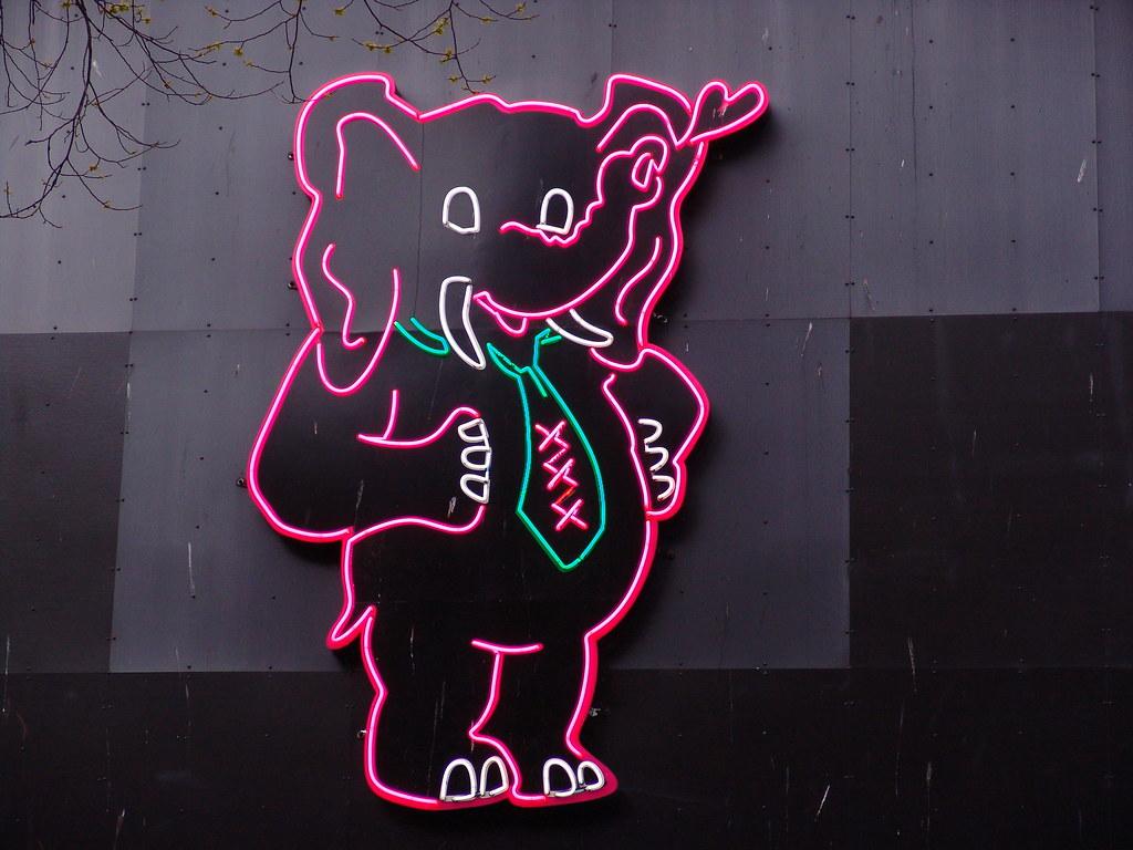 Pink Elephant | Flickr Photo