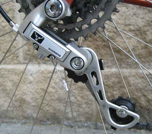 sequoia deerhead rear derailleur | by humblecyclist
