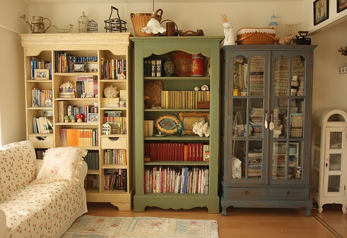 my shelves | by cottonblue