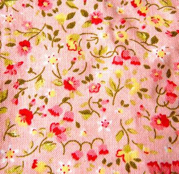 Estampado 7 | Estampado de flores rojas en fondo rosa. | baclava ...