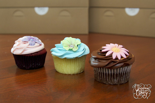 Chocolate Flower Cake Decorations