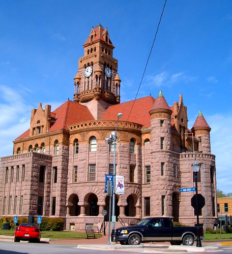 Wise County Courthouse in Decatur, TX | by maorlando - God keeps me as I lean on Him!!