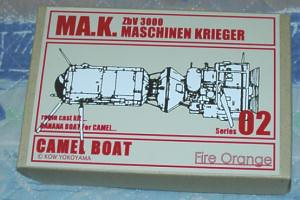 ma k 39 camel boat 39 this small resin model from japan recent flickr. Black Bedroom Furniture Sets. Home Design Ideas