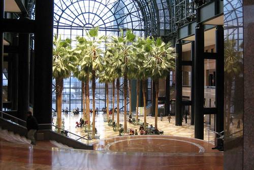 Nyc Battery Park City World Financial Center Winter