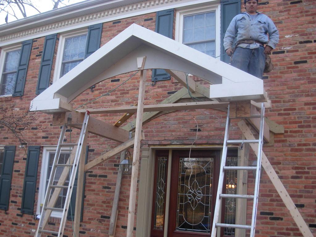 Framing Porch Roof Glen Izett Flickr