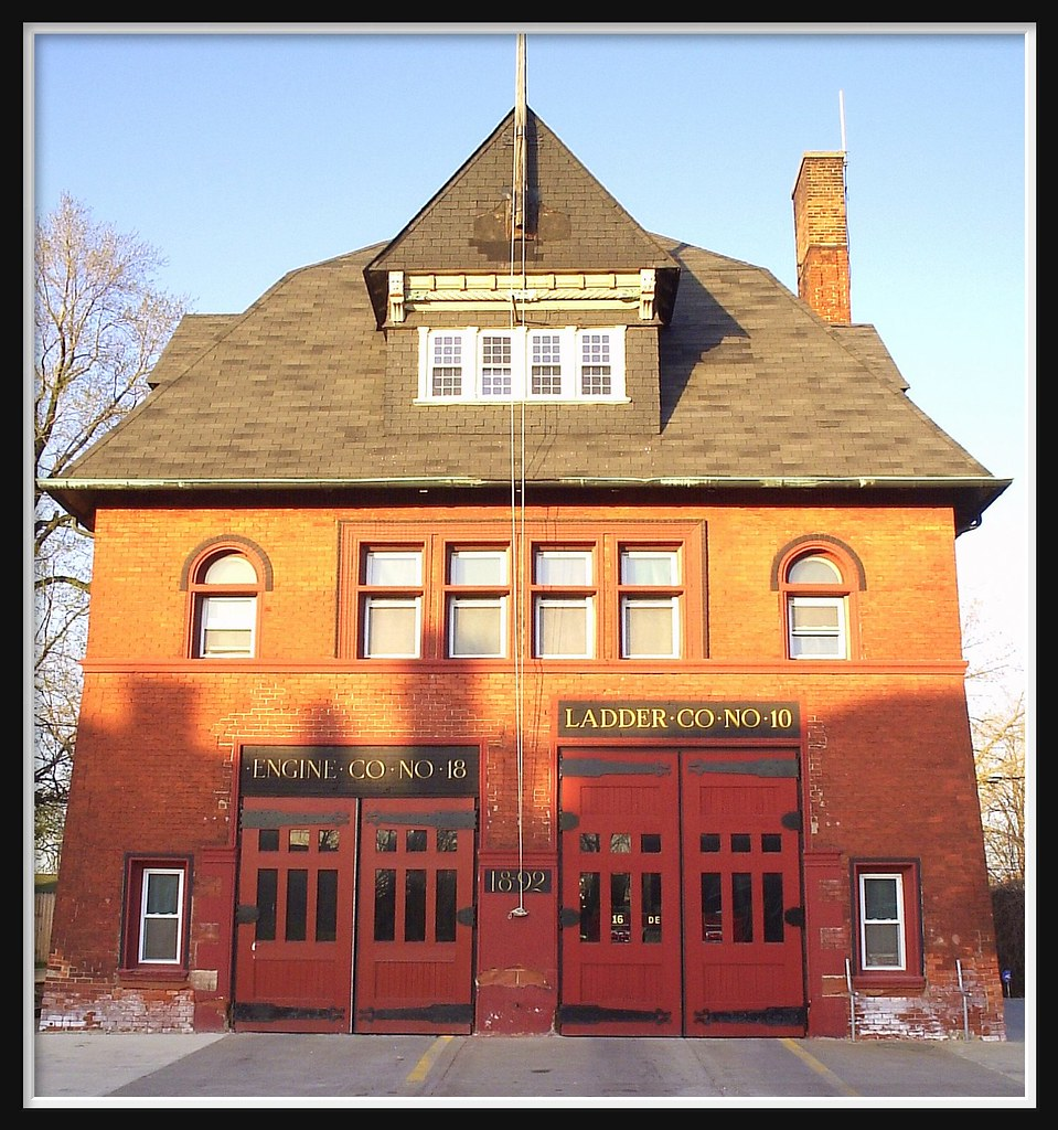Old firehouse on mount elliott street detroit mi an for Home building companies in michigan