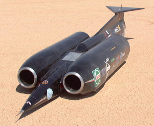 Land Speed Record >> Thrust SSC | Thrust SSC driven by Andy Green to a 2-way aver… | Flickr