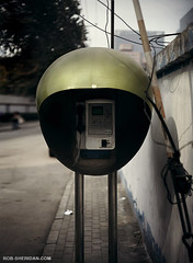 A Chinese Phone Booth - Beijing, China | by Rob Sheridan