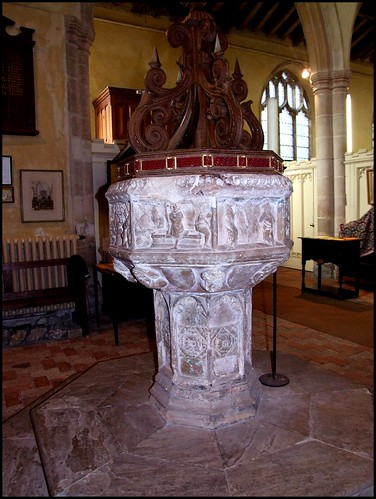 Font (early 16th century?) | by Simon_K