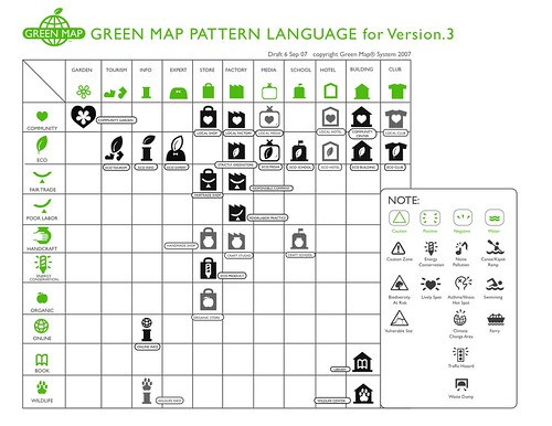 Green Map System (excerpt) | by eyebeam