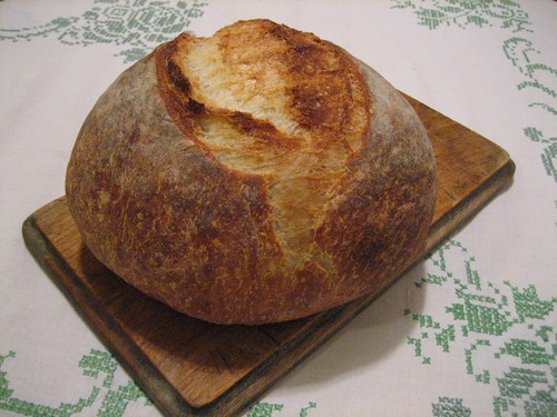 almost no knead bread | by boodely