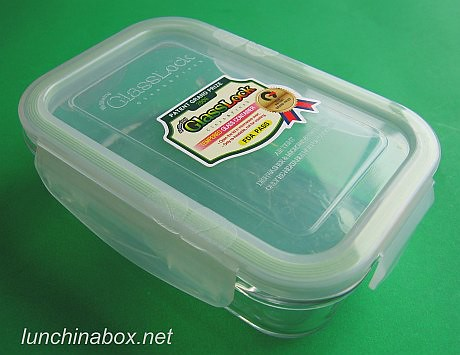 tempered glass bento box closed 400ml glasslock box from flickr. Black Bedroom Furniture Sets. Home Design Ideas