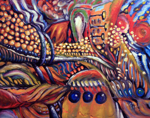 Carnivale (painting and poem) | by faith goble