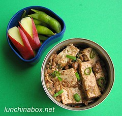 Ma po tofu bento lunch for preschooler | by Biggie*