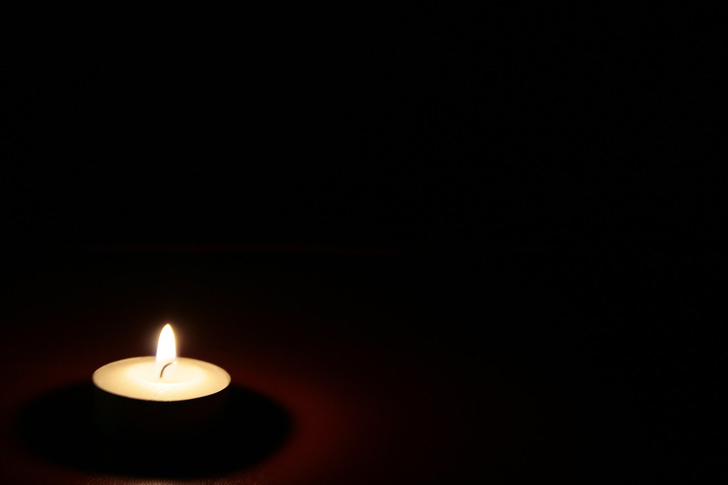 candle in the dark - photo #18