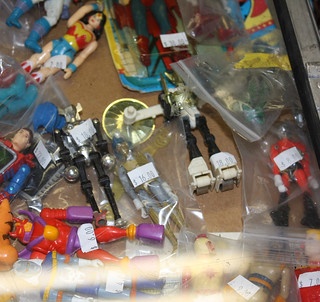 Toy Show: Rather worn Micronauts | by naladahc