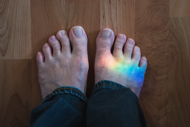 2017 02 12 Rainbow Foot