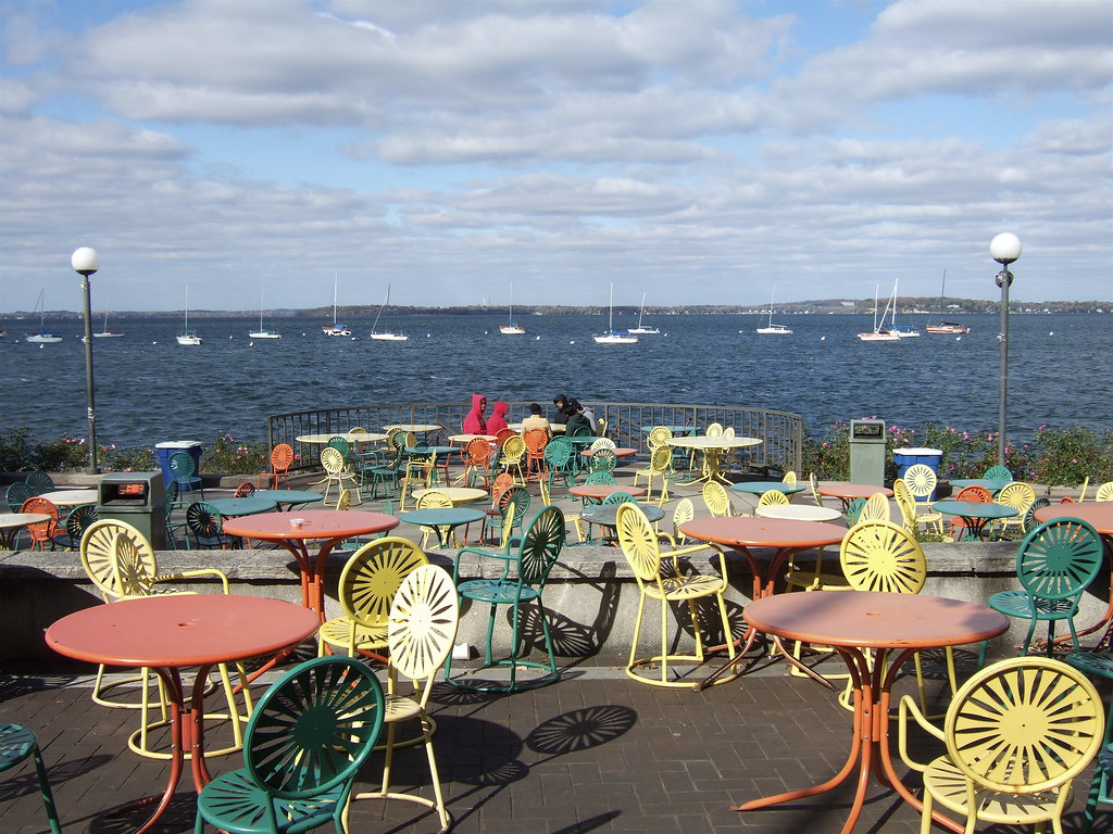 Memorial union terrace uw madison 1 terrace with for Madison terrace