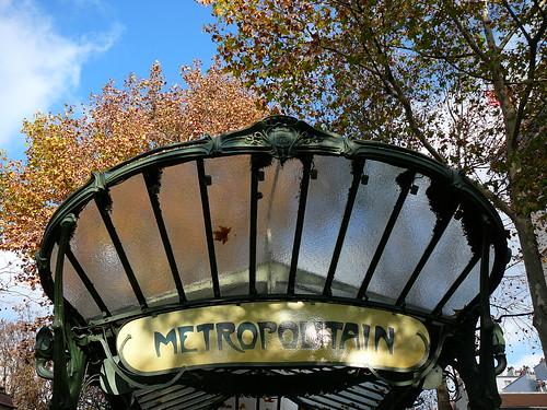Paris Metro - Abbesses (Montmartre)
