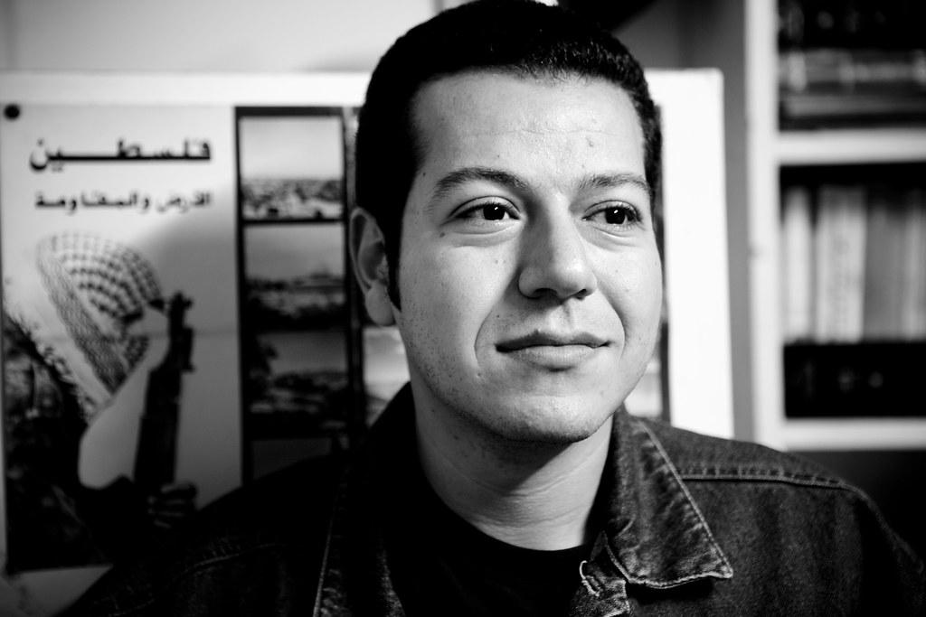 leftist journalist jano charbel hossam el hamalawy flickr