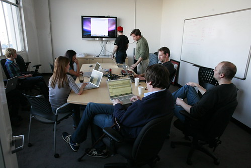 Revision 3's Friday afternoon staff meeting | by Robert Scoble