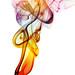Rainbow plume