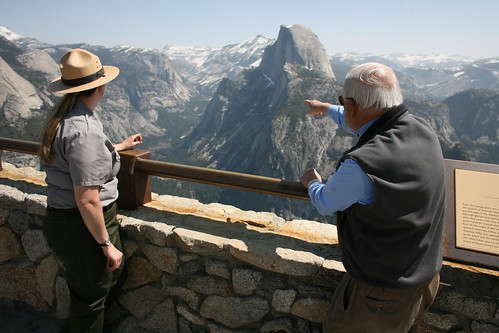 Michael Adams telling Park Ranger where he's been | by Robert Scoble