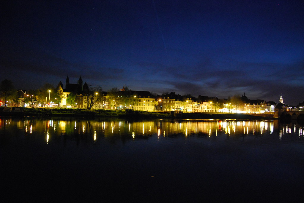 Maastricht at night everything is so flat int he netherla flickr - Maastricht mobel ...