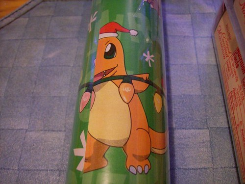 pokemon wrapping paper