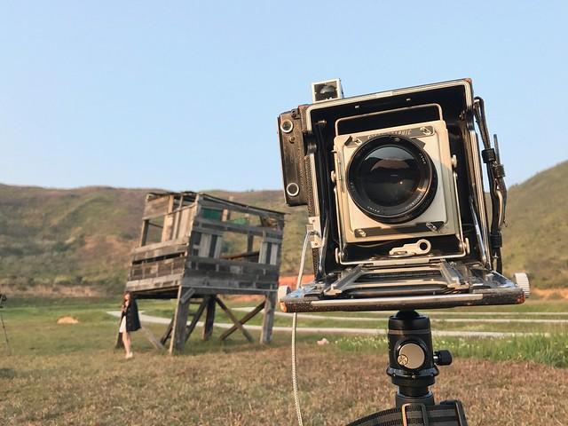 Leica 125mm f2.5 4×5 終機成像圈試練