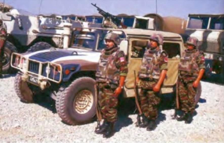 Les F.A.R. en Bosnie  IFOR, SFOR et EUFOR Althea 32123822533_417b55ec67_o