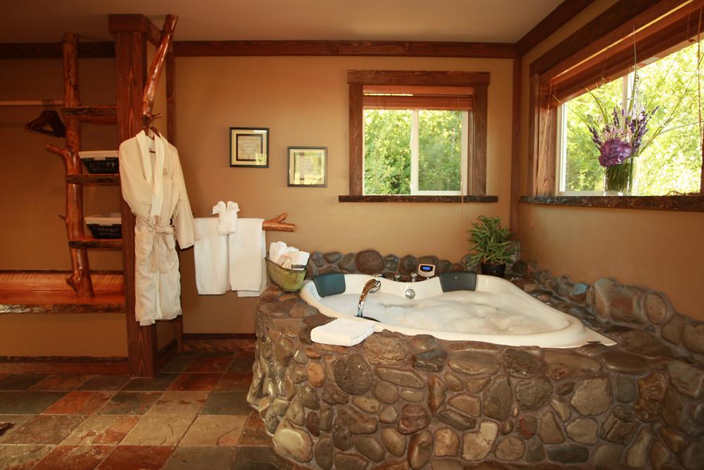 Hydrotherapy Spa Tub Carson Ridge Luxury Cabins Flickr