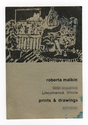 70's Business Card | by elliott of lincolnwood