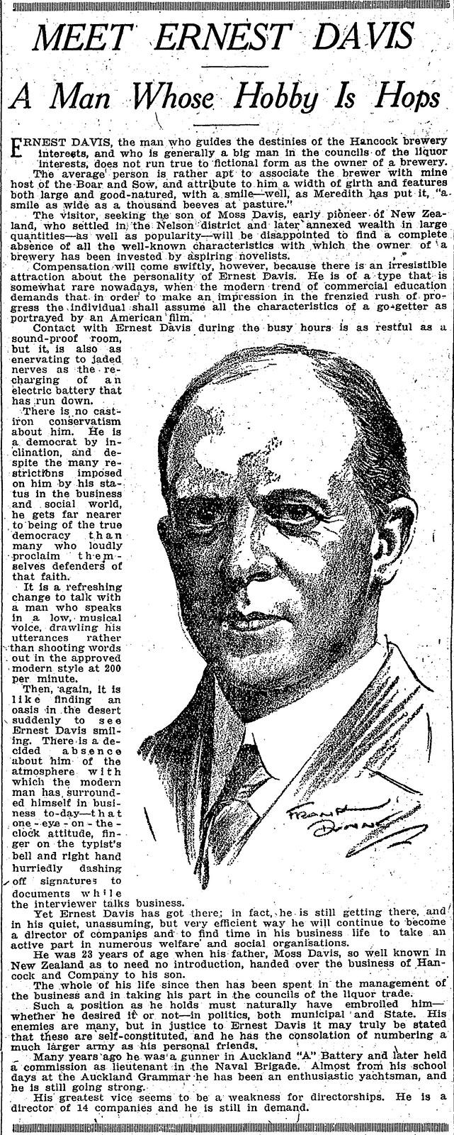 Ernest-Davis-newspaper
