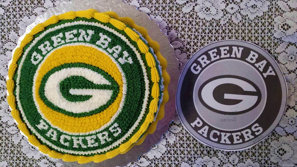 Green Bay Packers Birthday Cake The Bakery Fairy Flickr
