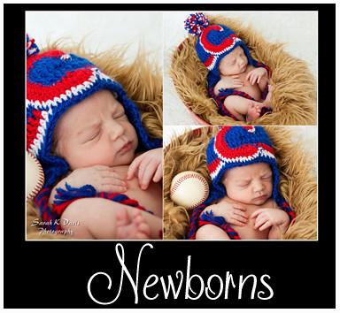 Newborns Portfolio Button