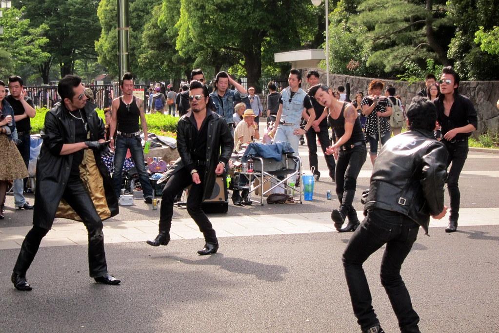 Tokyo Harajuku Yoyogi Park Tokyo Rockabilly Club Flickr