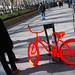 DKNY bicycle stunt