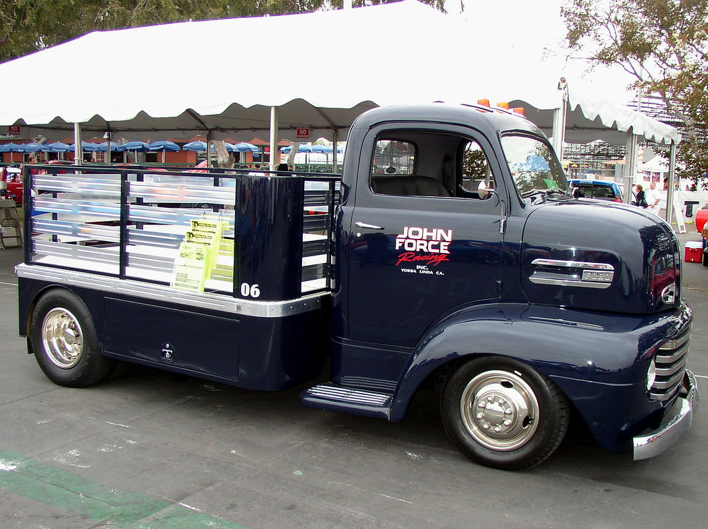 Gmc Costa Mesa >> P9243509 | 1948 Ford COE Truck with John Force Lettering ...