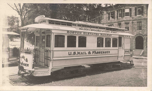 Boston, Massachusetts, Mail Streetcar | by Smithsonian Institution