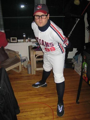 dan as thing rick vaughn from the major league