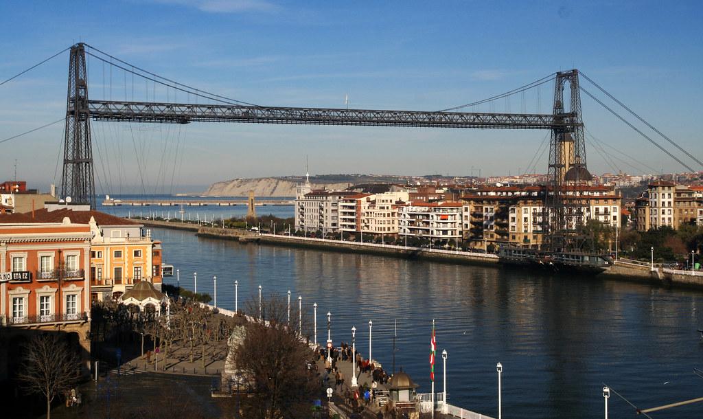 Puente colgante portugalete el principal atractivo for El jardin portugalete
