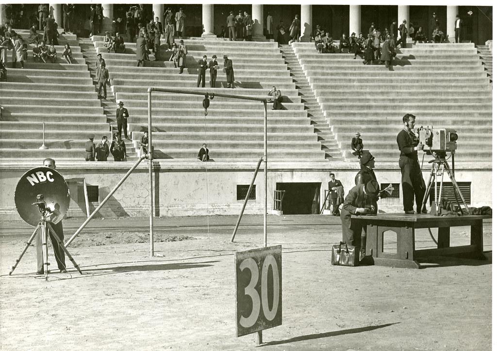1939 NBC TV Setup