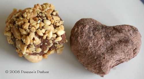 Milk Chocolate Peanut Butter Truffles | by Dianne's Dishes