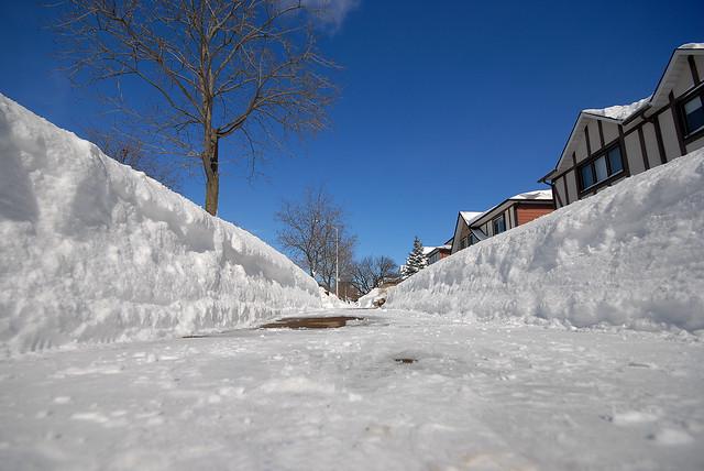 Snow Storm Toronto: Snow After Toronto Snow Storm