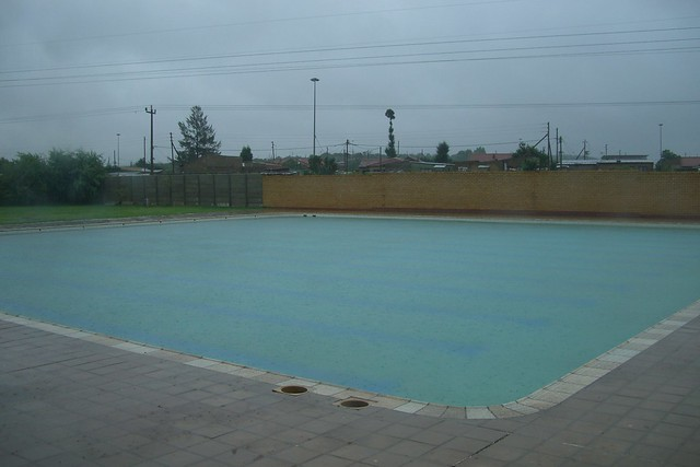 Orchard Farm Swimming Pool In The Rain Flickr Photo Sharing