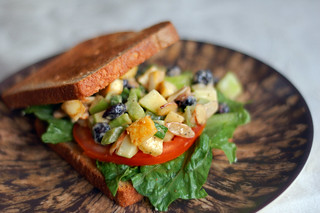 No Chicken Chinese Salad Sandwich | by Kim Smith-Miller