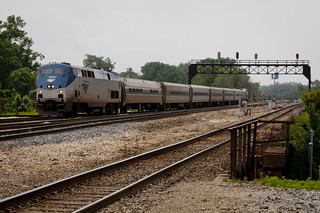 Amtrak Train No. 302 (Lincoln Service) Approaches Joliet Union Station | by vxla