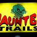 Haunted Trails Sign